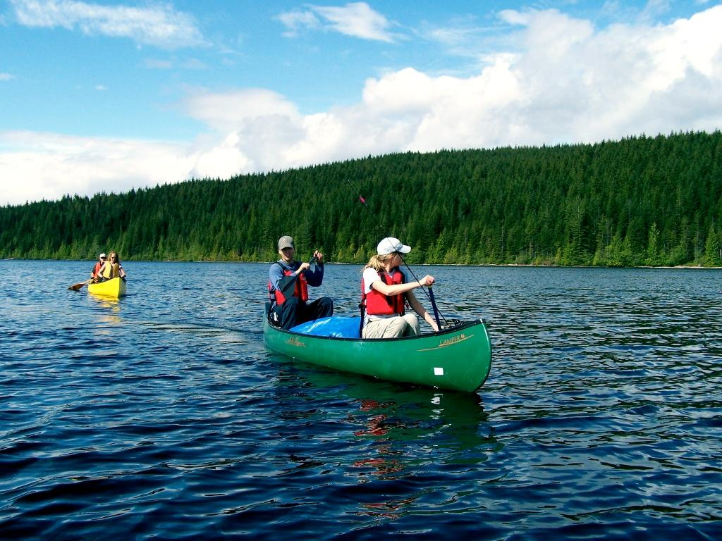Sayward Forest Canoe Route