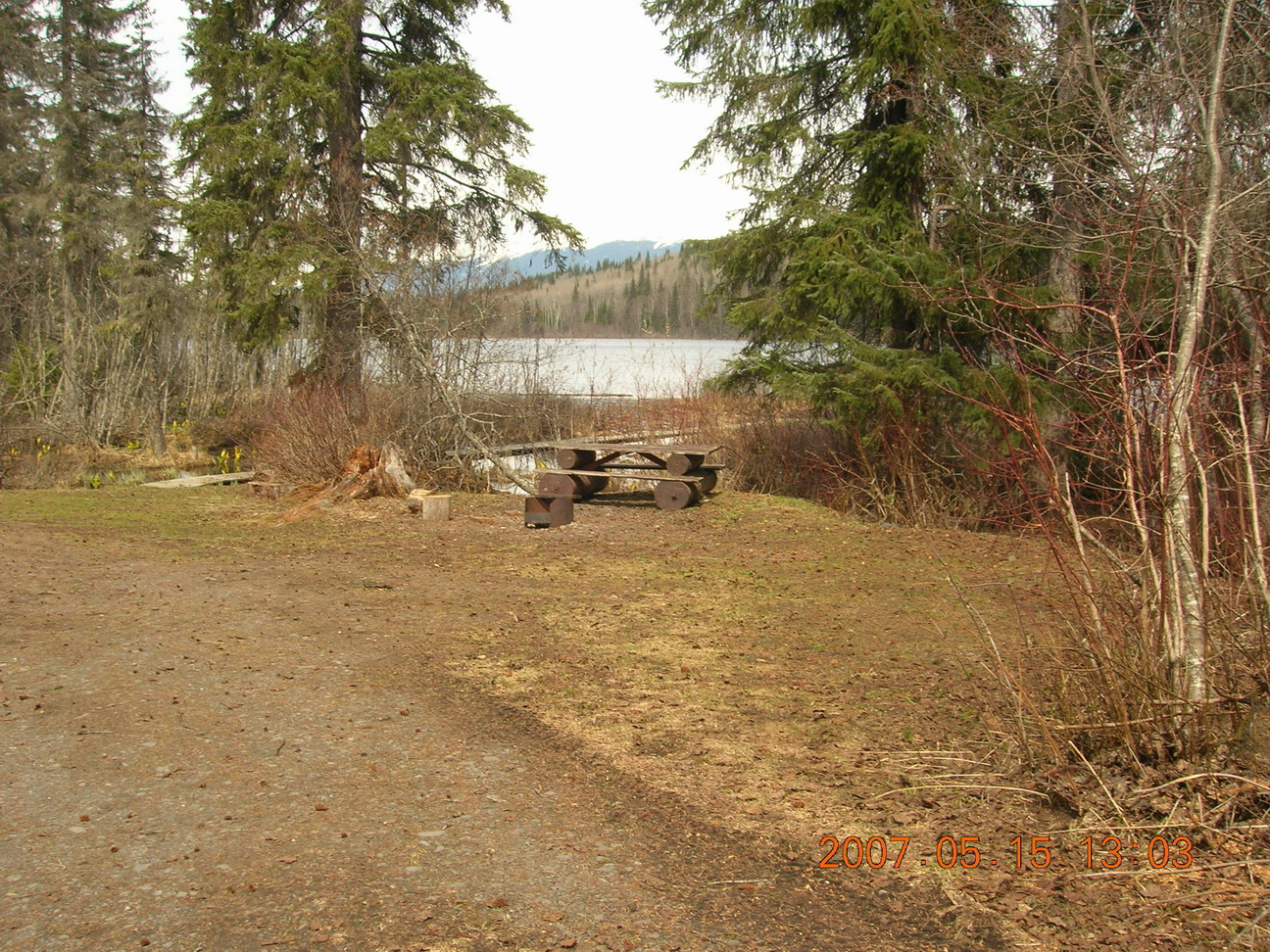 Recreation sites and trails bc for Fish lake camping