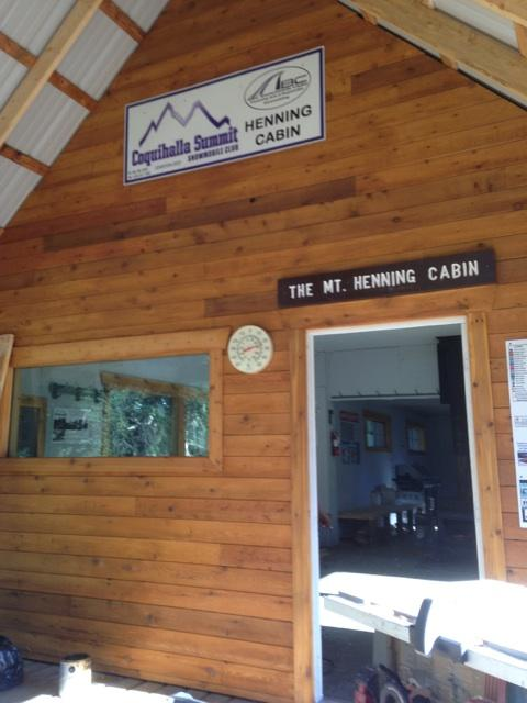 Mt. Henning Warming Hut