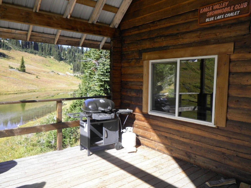 Blue Lake Snowmobile Shelter