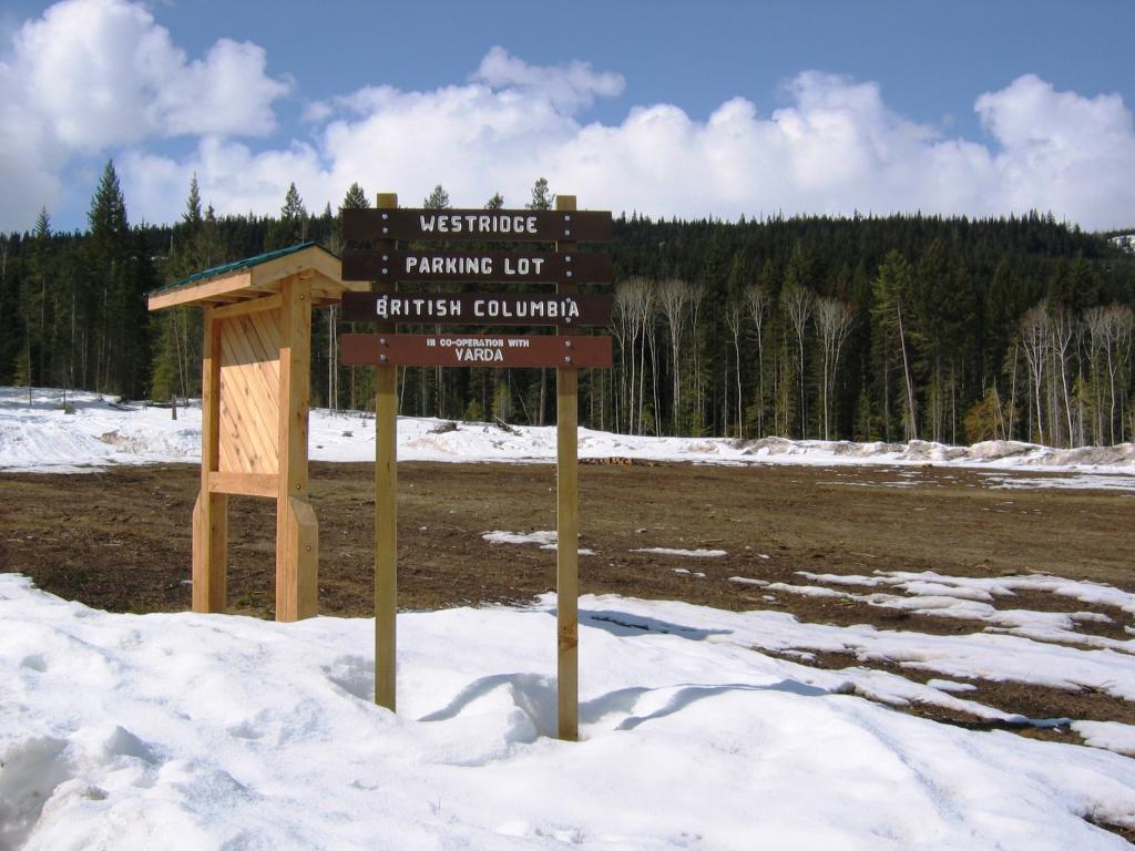Westridge Snowmobile Trail