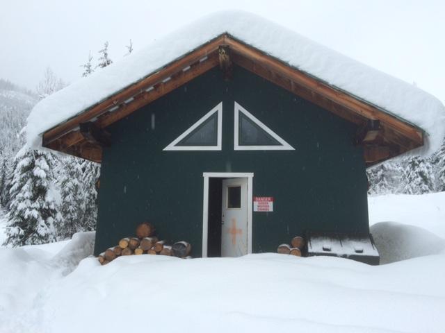 Mica Mountain Snowmobile Trail