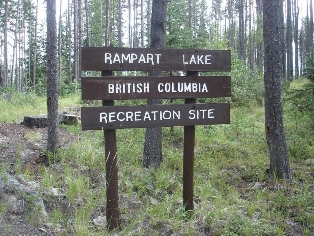 Rampart Lake