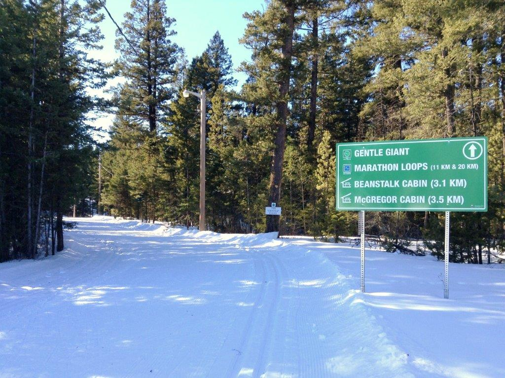 99 Mile Cross-Country Ski Trails