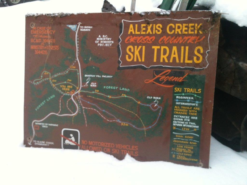 Alexis Creek Cross Country Ski Trails