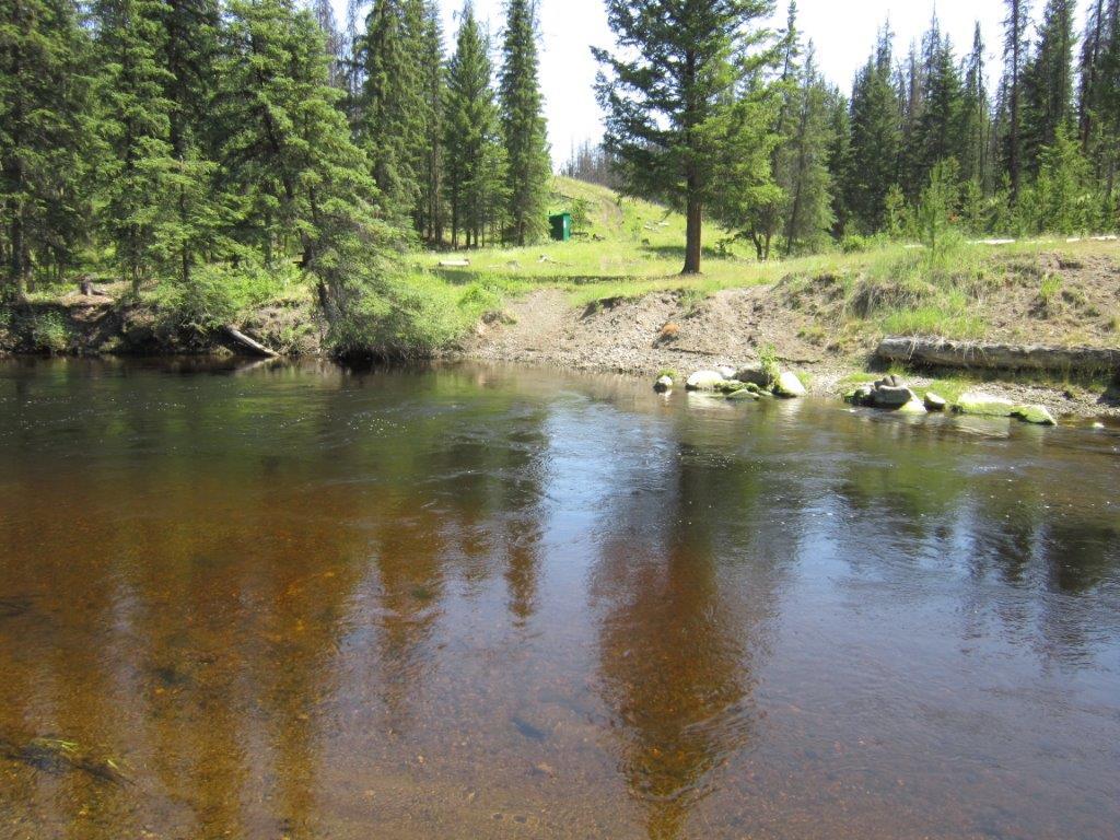 Bonaparte River Suicide Crossing