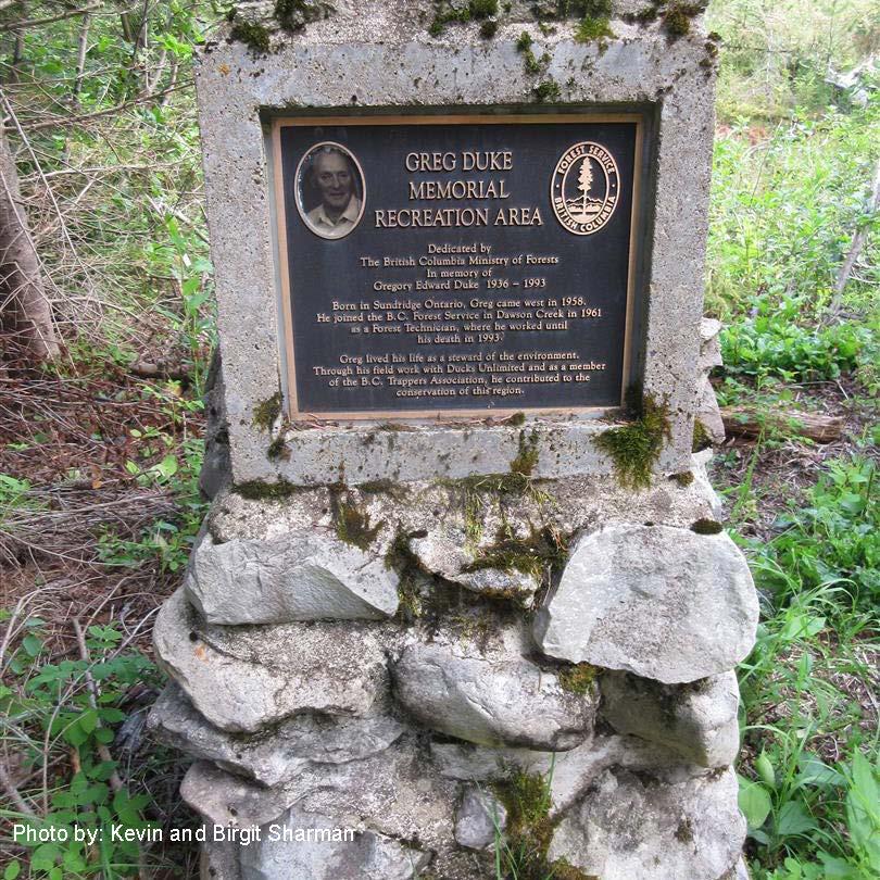 Greg Duke Memorial