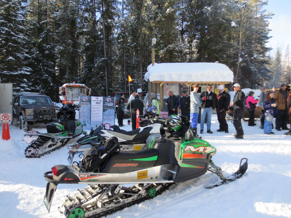 Lumberton Snowmobile Area